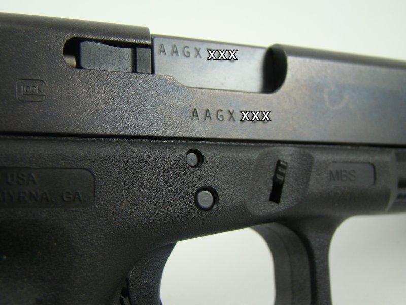 Glock date of manufacture