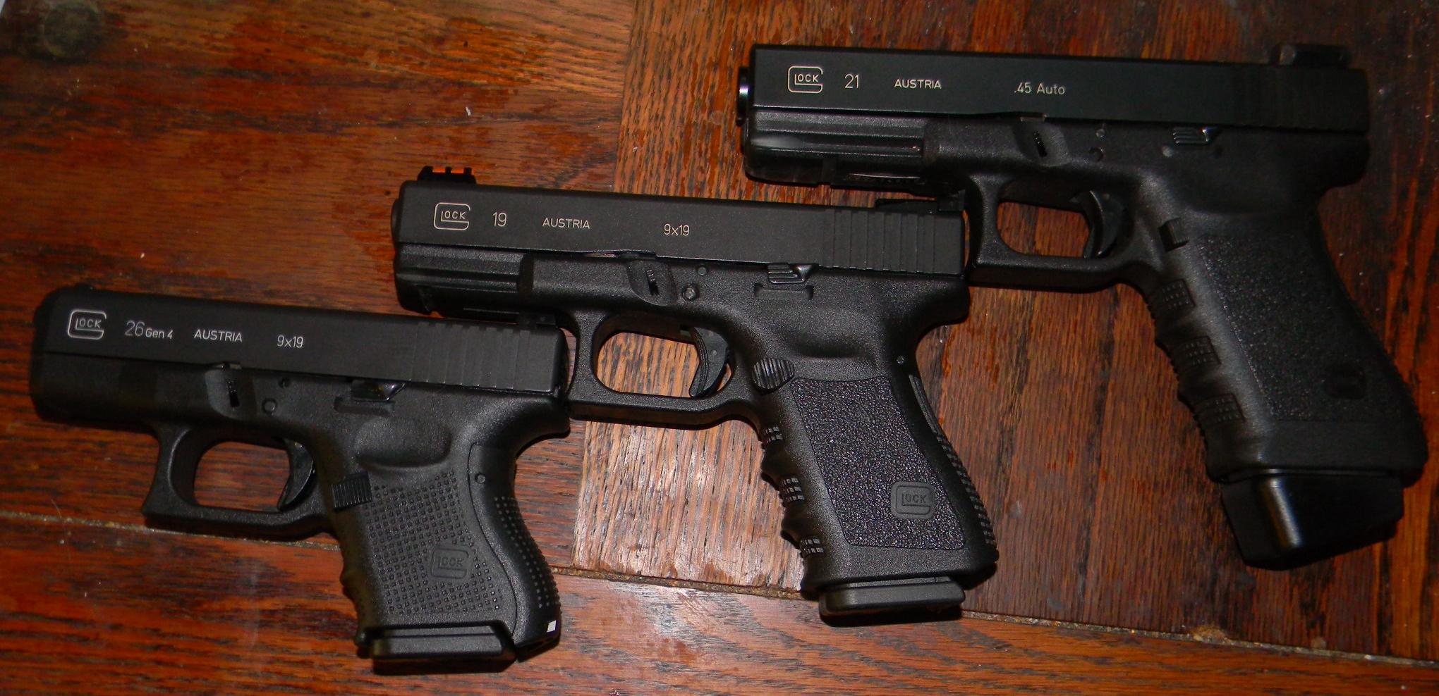 Baby Glock 40 Glock 26 Semi Automatic Pistol Austria Top Ten 40