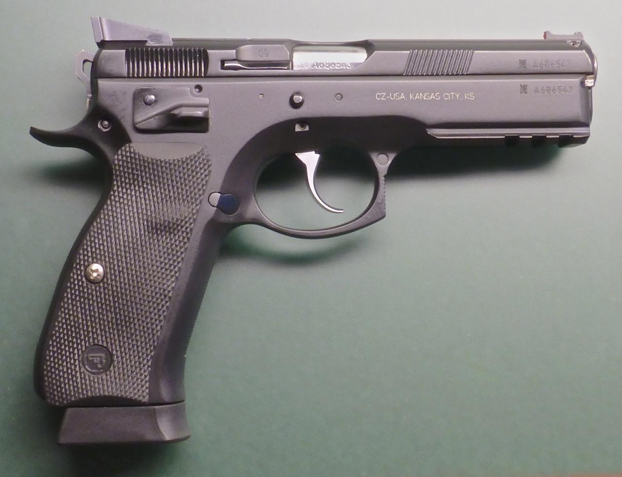 CZ 75 SP01 Shadow Custom
