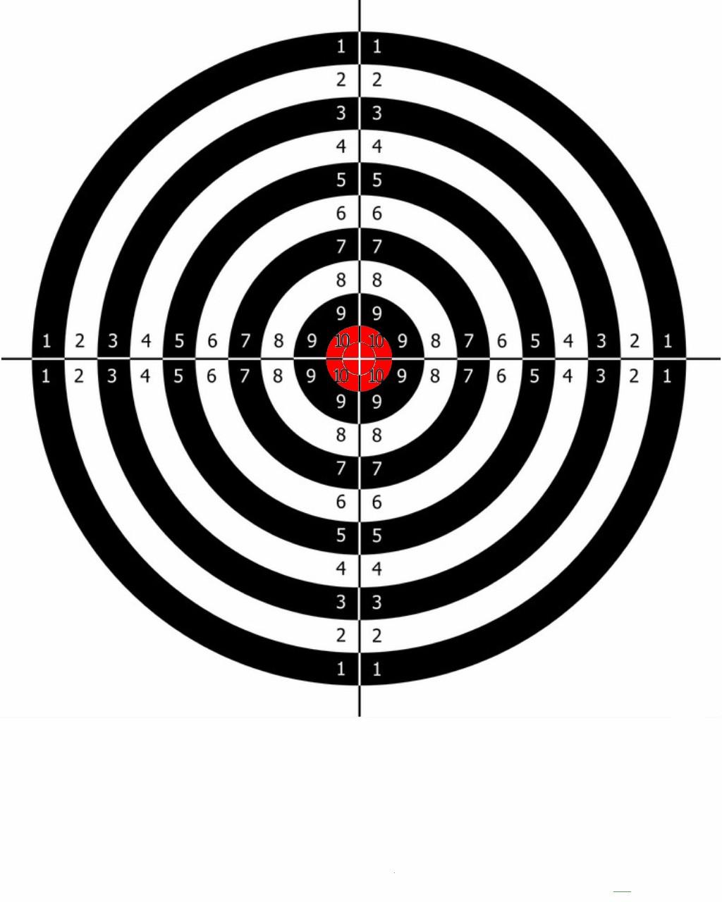 Shooting Targets Printable 8.5 X 11 Making targets... - page 2