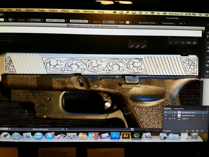 $8,000 Gold inlaid Glock 26! [Archive] - Calguns.net